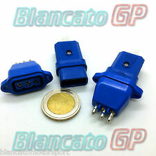 CONNETTORE DI ALIMENTAZIONE 3 PIN 250V 10A AC DA PANNELLO connector plug socket