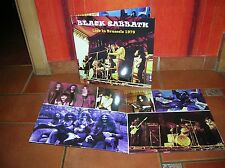 BLACK SABBATH - BRUSSELS TOUR SHOW LP ULTRARARE & GREAT COLLECTOR'S EDITION !!!