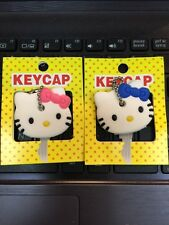 A Pair Hello Kitty Key Cap-Cute Hello Kitty Key Cover Cap (2 Pcs)