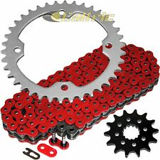 Red O-Ring Drive Chain & Sprockets Kit Fits YAMAHA YFZ450 2004-2013