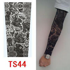QW9 High Quality Old School Style Temporary Fake Slip On Tattoo Arm Sleeve TS44