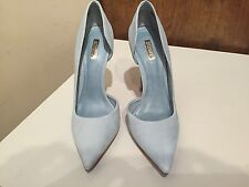SCHUTZ RITA SUEDE LEATHER HEELS PUMPS, Tourmaline SIZE 9.5  9 1/2