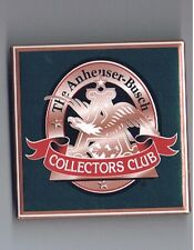 Anheuser Busch Beer Collector Club Pinback Button Brewery Advertising Eagle Nice