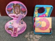 Polly Pocket Cinderella Set & Mini Disc