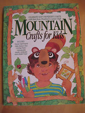 Mountain Crafts for Kids: Nature Craft Projects, Bible Memory Verse Coloring Pos