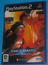 SVC Chaos - Snk Vs. Capcom - Sony Playstation 2 PS2 - PAL New Nuovo Sealed