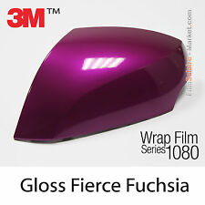 20x30cm FILM Gloss Fierce Fuchsia 3M 1080 G348 Vinyle COVERING Car Wrapping