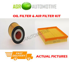 PETROL SERVICE KIT OIL AIR FILTER FOR VAUXHALL ASTRA 1.4 75 BHP 2004-06