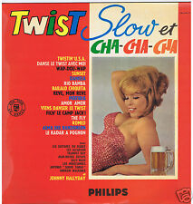 LP TWIST SLOW CHA CHA CHA HALLYDAY GUITARES DU DIABLE BILLY NASH