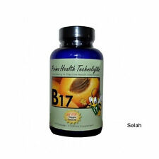 Organic Vitamin B17 500mg 90 capsule bottle