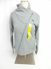 Puma Ladies ASYM Jacket Medium Grey Heather US Size XL NWT