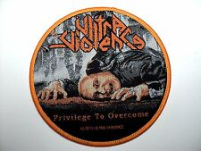 ULTRA VIOLENCE PRIVILEGE TO OVERCOME WOVEN PATCH