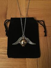 Harry Potter Quidditch Golden Snitch Necklace/Pendant