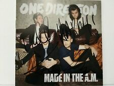 One Direction COA SIGNED Autograph made in the am Booklet NO PROMO Tour FOUR