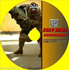 KRAV MAGA COMBAT SKILLS DVD VIDEO GUIDE GOOD EFFECTIVE SELF DEFENCE TUITION NEW
