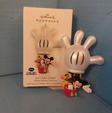 Hallmark Ornament 2009 LET'S TAKE A RIDE! Mickey Mouse Clubhouse DISNEY QXD2092