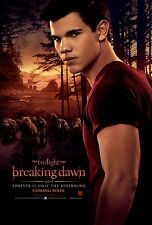 Twilight poster - Breaking Dawn part 1 movie poster (d) Taylor Lautner poster