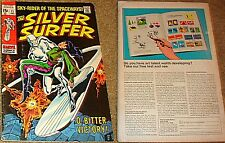 SILVER SURFER 11 1968 RARE 1st SERIES MARVEL F+ SKY RIDER OF THE SPACEWAYS