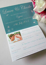 Sample Wedding Invitation Passport Style Travel Abroad Information Ticket Flight