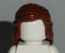 HAIR Lego F016 Female Reddish Brown Mid Length Braid around Sides NEW Unisex Boy