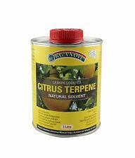 Organoil Citrus Terpene Natural Turps or Solvent 1 litre FREE Postage