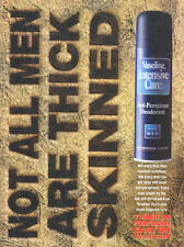 "Vaseline Intensive Care ""Thick Skinned"" 1997 Magazine Advert #4648"