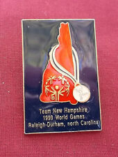 Team New Hampshire 1999 World Games Raleigh-Durham, North Carolina  Pin By ZANCA