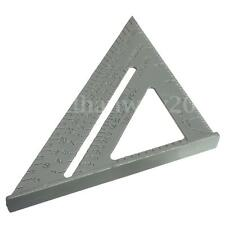 6'' Aluminum Alloy Square Measuring Tool Roofing Triangle Joiner Joinery Ruler