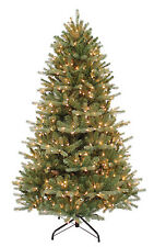 "6.5'x50"" Balsam Fir Artificial Christmas & Holiday Tree w/700 Clear Lights"
