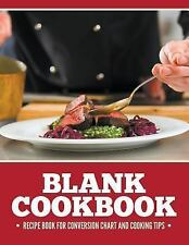 Blank Cookbook Recipe Book for Conversion Chart and Cooking Tips by Speedy...