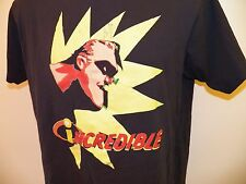 MR. INCREDIBLE Disney Store T-Shirt MEDIUM The Incredibles 100% Cotton Pixar