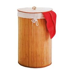 Bambou Boite De Lavage Panier À Linge À À Corbeille À