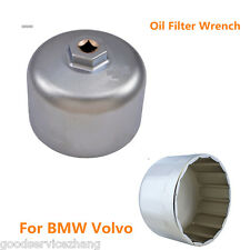 Car 86mm Cartridge Style Oil Filter Wrench for Filter Housing Caps for BMW Volvo