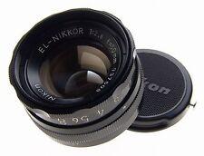 NIKON EL-NIKKOR 1:2.8 f=50mm ELARGING LENS BLACK MINT CAP CLEAN GLASS PERFECT NR