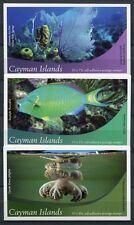 KAIMAN INSELN CAYMAN 2012 Meerestiere Fische Markenhefte (3) **