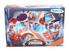 Marvel Ultimate Spiderman Ready Bed Kids Sleeping Bag - Air Mattress *New