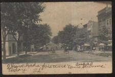POSTCARD ENGLEWOOD NJ/NEW JERSEY PALISADE AVENUE BUSINESS STORE FRONT 1906