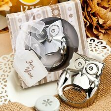 Fabulous Owl Bottle Opener Wedding Favor Unique Reception Gift Party Drink One