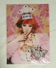 SNSD Girls' Generation Tiffany I Got a Boy IGAB Everysing L Holder Folder Rare
