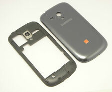 Original Samsung Galaxy S3 Mini i8190 Cover Gehäuse Mittel Rahmen Akku Deckel