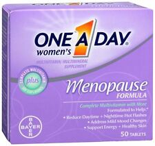 One-A-Day Menopause Formula Complete Women's Multivitamin 50 Tablets (Pack of 6)