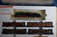 Fleischmann HO 4885 Zugset D-Zug Preussen BR 2810 KPEV  (CD/004-141S9/7)