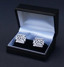 Oldest Rocker Cufflinks Gift Boxed Rock n Roll Cuff Links Music FREE UK POST