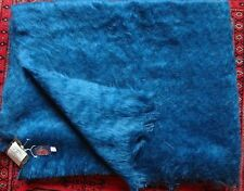"Glen Stewart Collection Mohair Blanket 74 x50""  New with Tag"