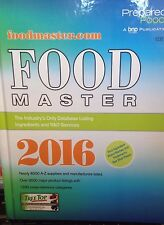 Food Master 2016 A-Z suppliers / manufacturers new hardcover catalog
