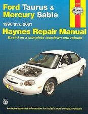 Ford Taurus and Mercury Sable, 1996-2001 Vol. 36075 by J. H. Haynes and Ken...