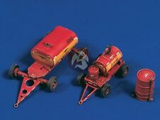 Verlinden 1/48 US Navy Carrier / Airfield Fuel and Oil Carts w/Drum Trolley 2551