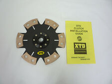 XTD STAGE 4 CERAMIC RIGID CLUTCH DISC SUPRA 5MGE 7MGE 7MGTE 2JZGE