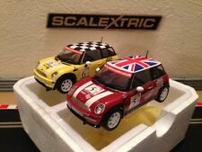 Scalextric: 2 Mini Coopers From John Cooper Challenge Set (Mint Condition)