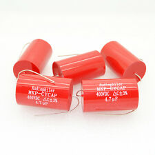 10pcs AudioPhiler 4.7uF 400V MKP Tubular Audio Capacitor-4170